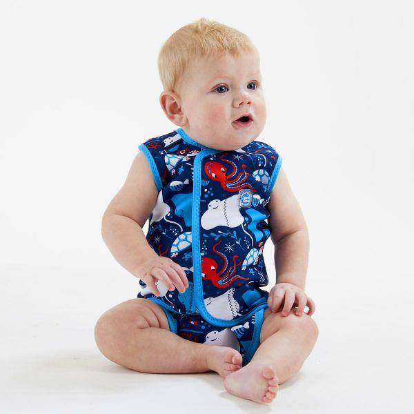 Costum neopren cu velcro bebeluşi - Baby Wrap™ Din Ocean 2