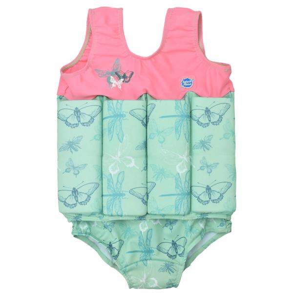 Costum înot plutitor fete - Floatsuit Libelule 0