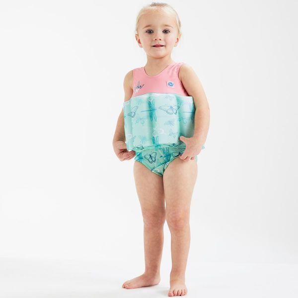 Costum înot plutitor fete - Floatsuit Libelule 3