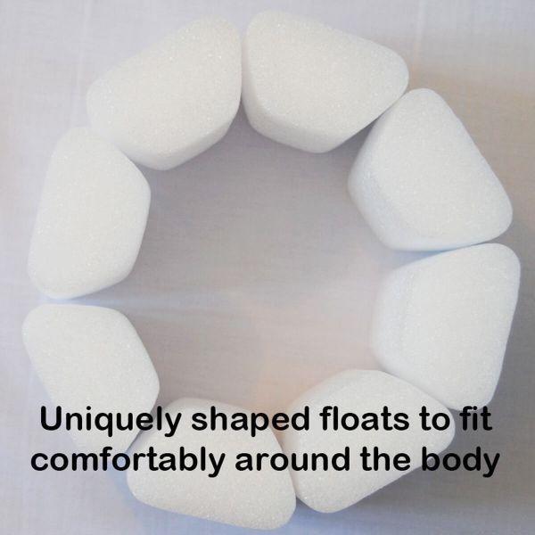 Costum înot plutitor fete - Floatsuit Flori Rozalii [2]