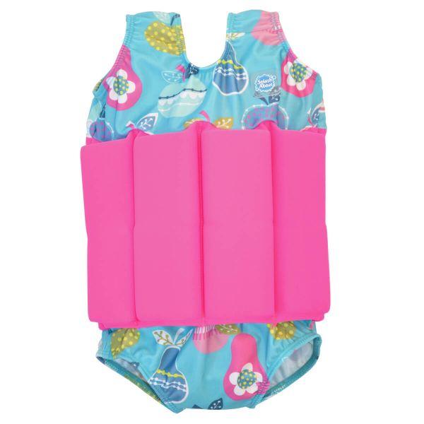 Costum înot plutitor fete - Floatsuit Multe Fructe 0