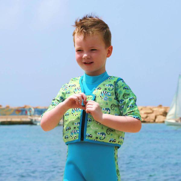 Vestă înot copii - Go Splash Swim Vest Gegoşii Verzi 2