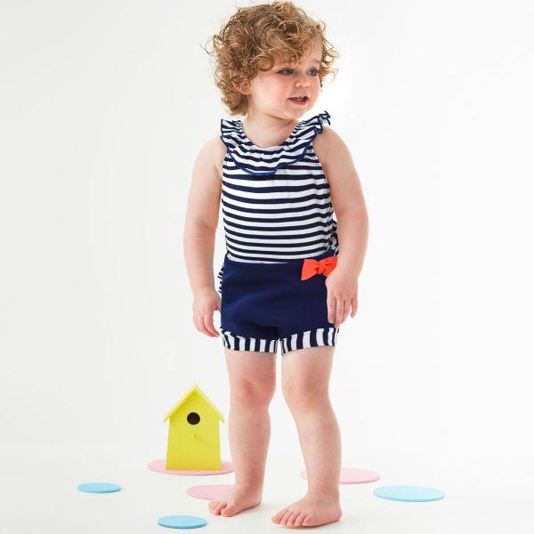 Costum înot/scutec de apă bebeluşi - Happy Nappy™ Nautic 2