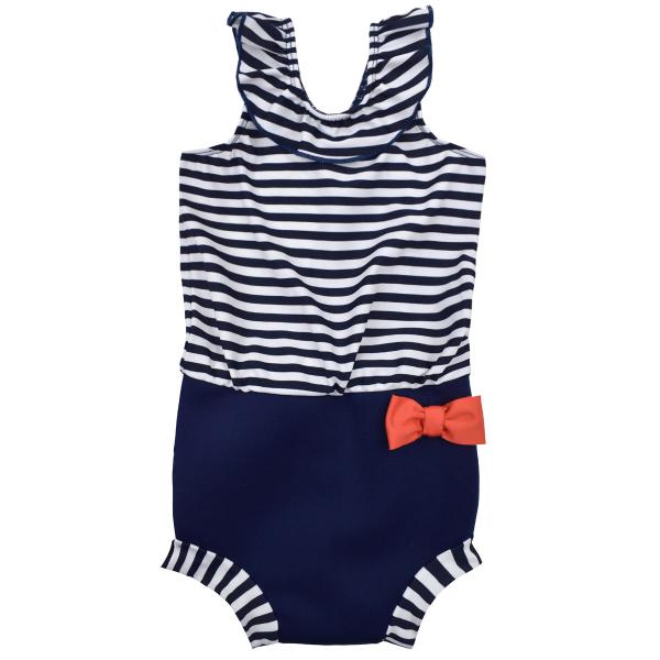 Costum înot/scutec de apă bebeluşi - Happy Nappy™ Nautic 0
