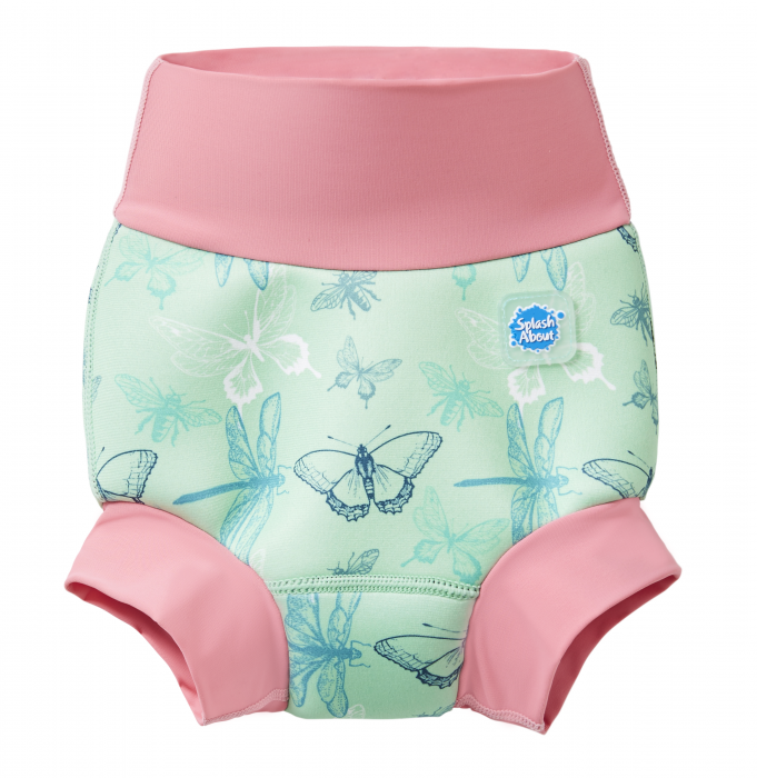 Slip înot/scutec de apă bebeluşi - Happy Nappy™ Libelule 0