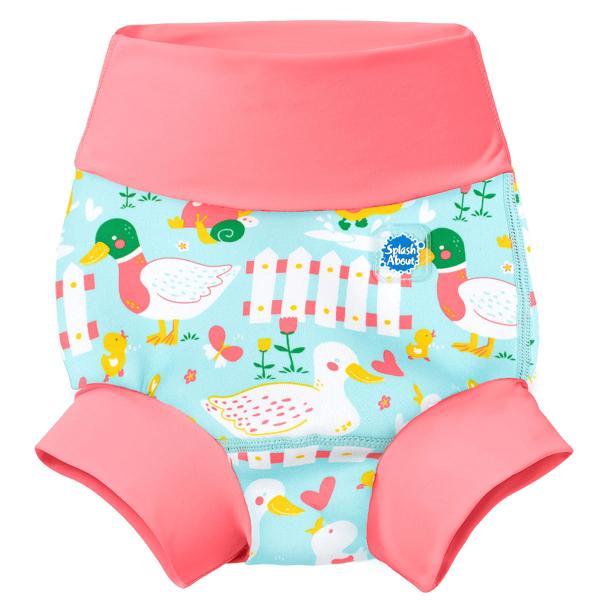 Slip înot/scutec de apă bebeluşi - Happy Nappy™ 5 Rațuşte 0