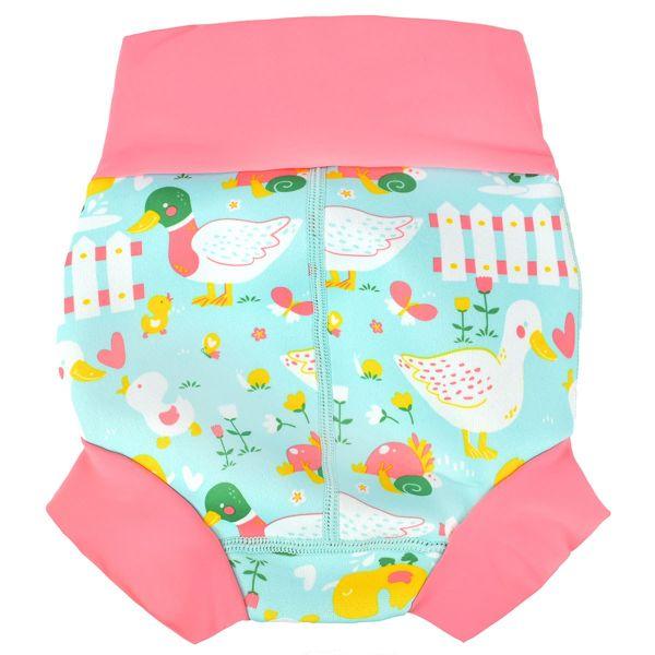 Slip înot/scutec de apă bebeluşi - Happy Nappy™ 5 Rațuşte 1