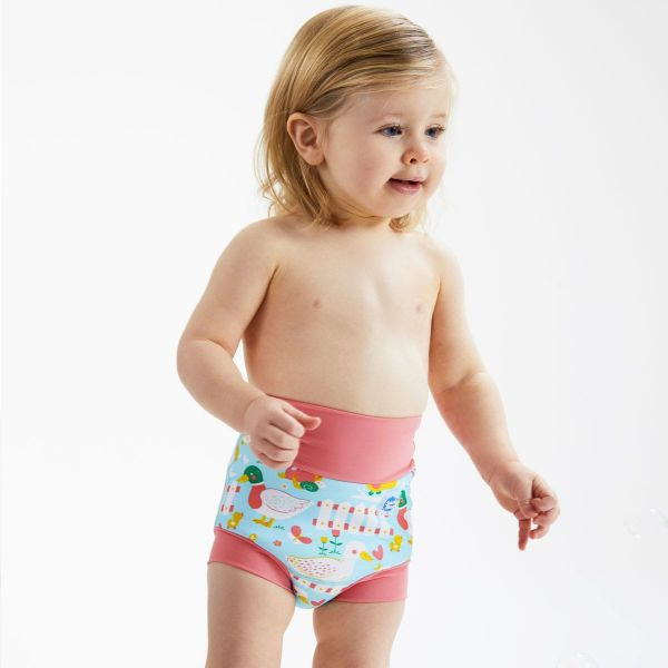 Slip înot/scutec de apă bebeluşi - Happy Nappy™ 5 Rațuşte 2