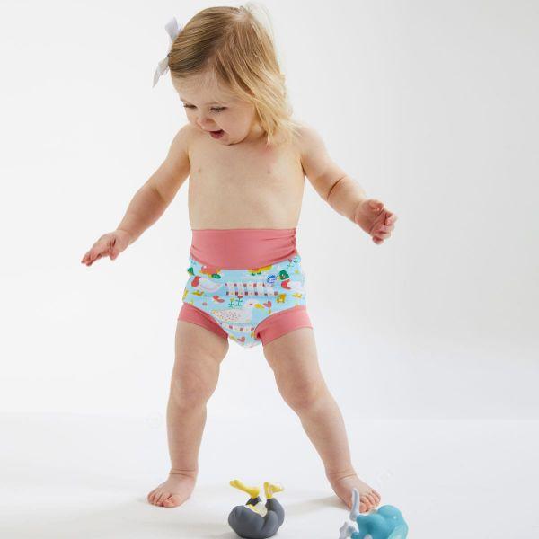 Slip înot/scutec de apă bebeluşi - Happy Nappy™ 5 Rațuşte 3