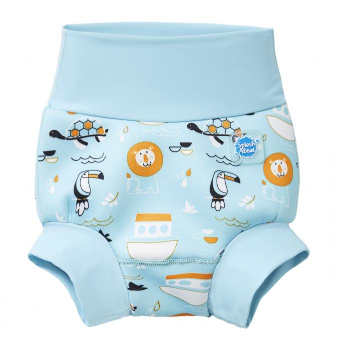 Slip înot/scutec de apă bebeluşi - Happy Nappy™ Arca lui Noe 0