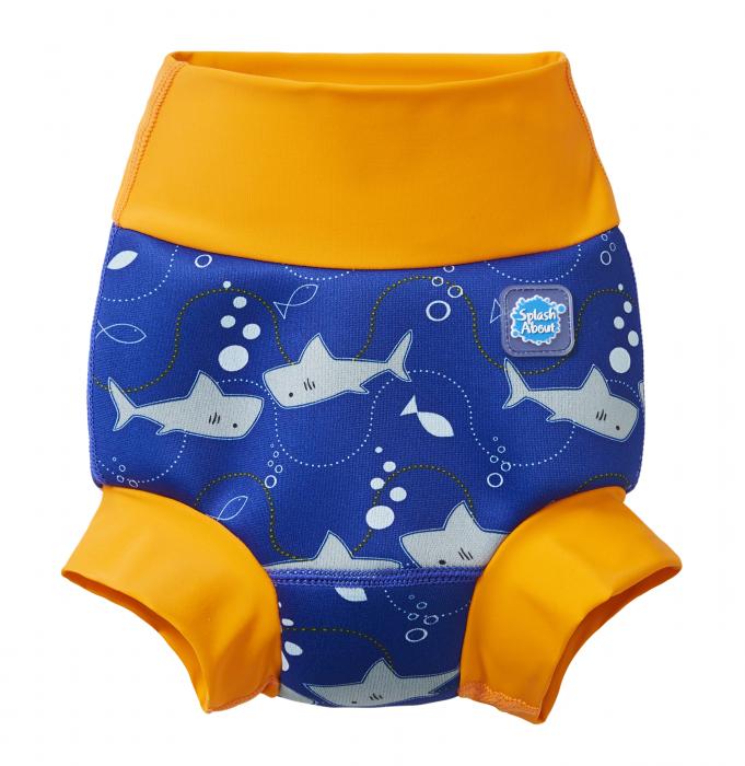 Slip înot/scutec de apă bebeluşi - Happy Nappy™ Rechinii Simpatici 0