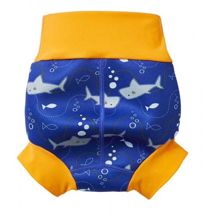 Slip înot/scutec de apă bebeluşi - Happy Nappy™ Rechinii Simpatici 1
