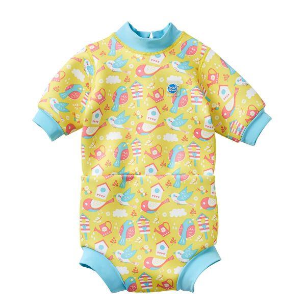 Costum neopren/scutec bebeluşi - Happy Nappy™ Păsări de Grădină 0