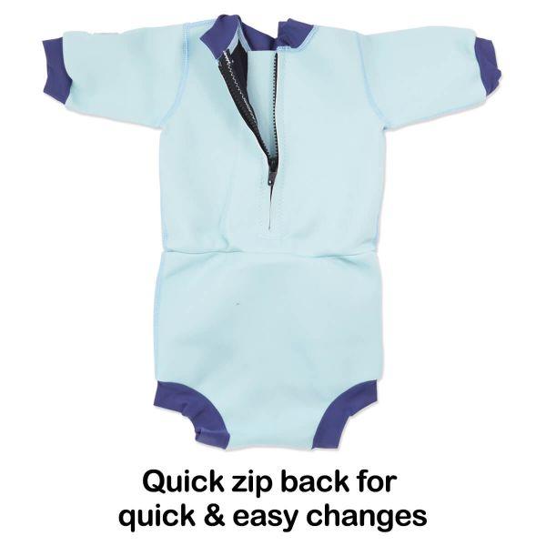 Costum neopren/scutec bebeluşi - Happy Nappy™ Micii Elefanți 6