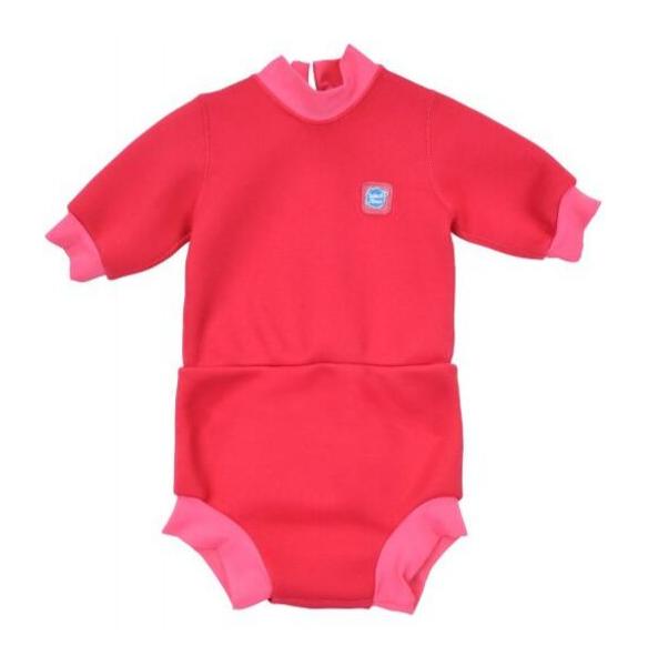 Costum neopren/scutec bebeluşi - Happy Nappy™ Roz Geraniu 0