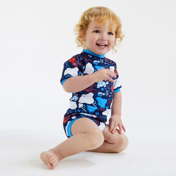 Costum neopren/scutec bebeluşi - Happy Nappy™ Din Ocean 3