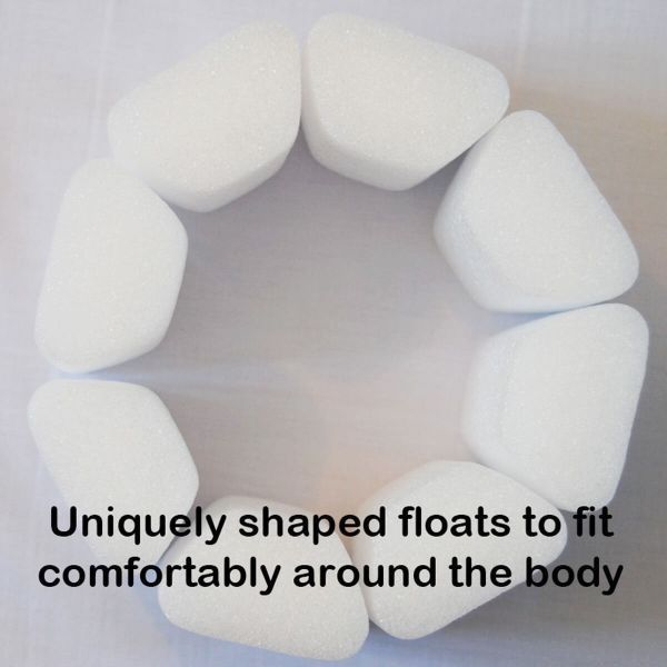 Costum înot plutitor/protecție UV copii-UV Floatsuit Rechinii Simpatici 4