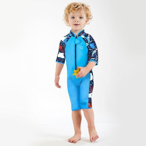 Costum neopren copii - Shorty Wetsuit Din Ocean [2]