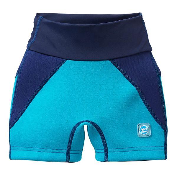 Pantalon scurt înot/incontinență copii - Splash Jammers Marin/Jad 0