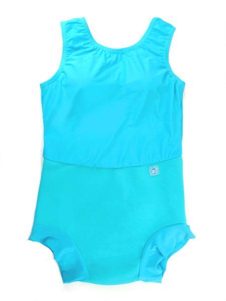 Costum înot/incontinență copii - Splash Costume Turcoaz 0
