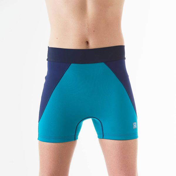 Pantalon scurt înot/incontinență adulți  - Splash Jammers Marin/Jad 4