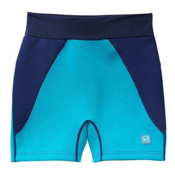 Pantalon scurt înot/incontinență adulți  - Splash Jammers Marin/Jad 0
