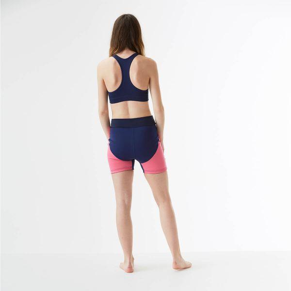 Pantalon scurt înot/incontinență adulți  - Splash Jammers Marin/Roz 4