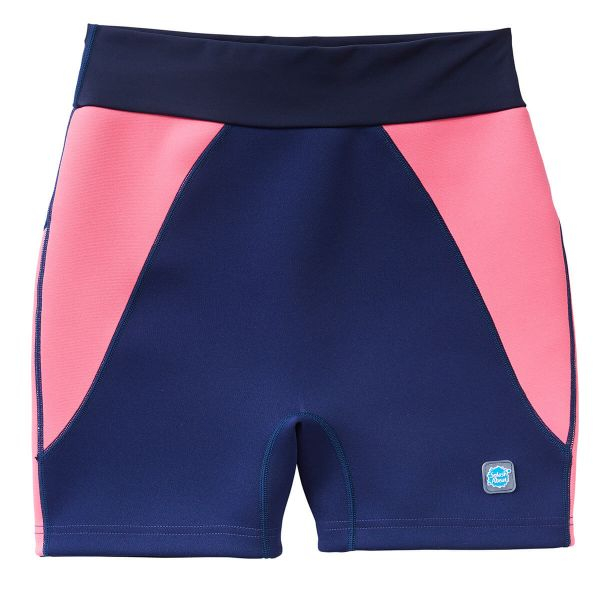 Pantalon scurt înot/incontinență adulți  - Splash Jammers Marin/Roz 0