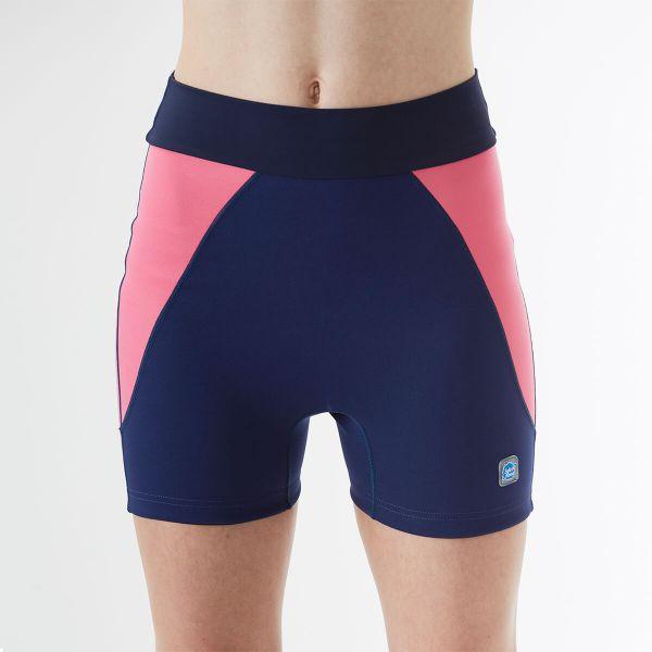 Pantalon scurt înot/incontinență adulți  - Splash Jammers Marin/Roz 2
