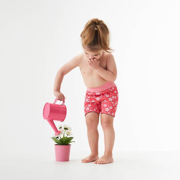 Pantalon scurt înot copii - Splash Jammers Flori Rozalii 2