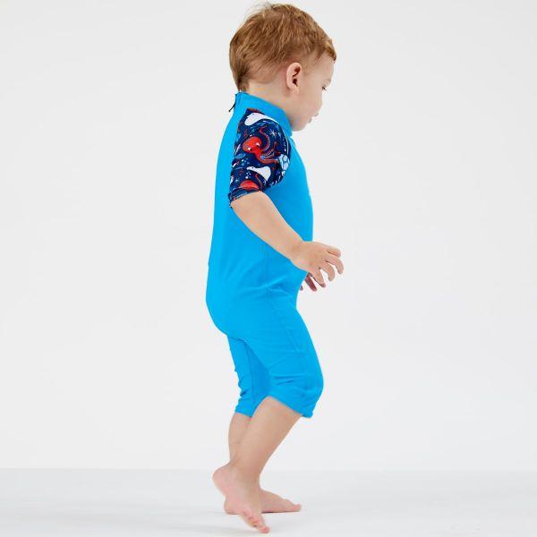 Costum protecție UV copii - Toddler UV Sunsuit Din Ocean 3
