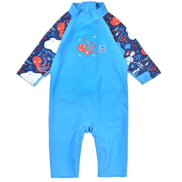 Costum protecție UV copii - Toddler UV Sunsuit Din Ocean 0