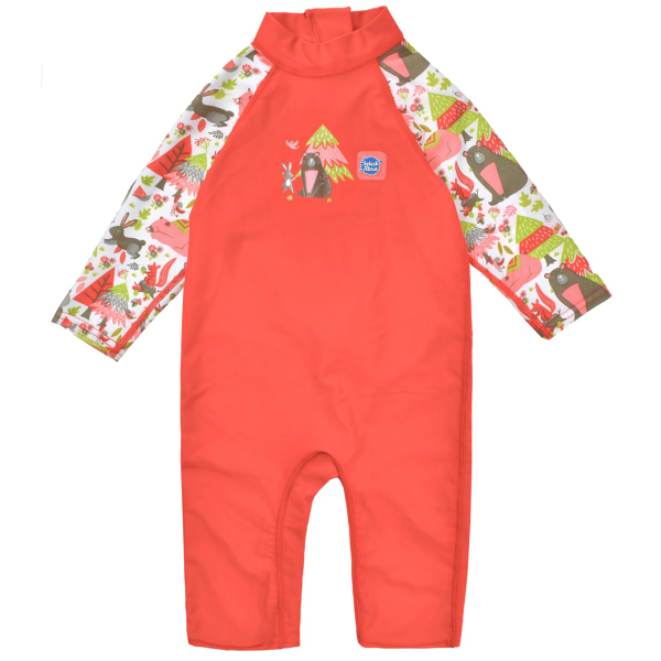 Costum protecție UV copii - Toddler UV Sunsuit Din Pădure 0