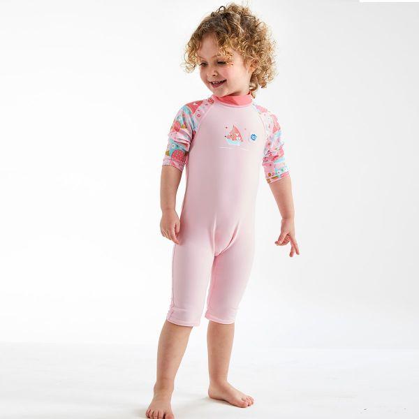 Costum protecție UV copii - Toddler UV Sunsuit Bufnițe şi Pisicuțe 2