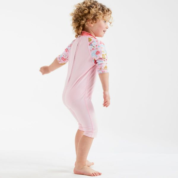 Costum protecție UV copii - Toddler UV Sunsuit Bufnițe şi Pisicuțe 3