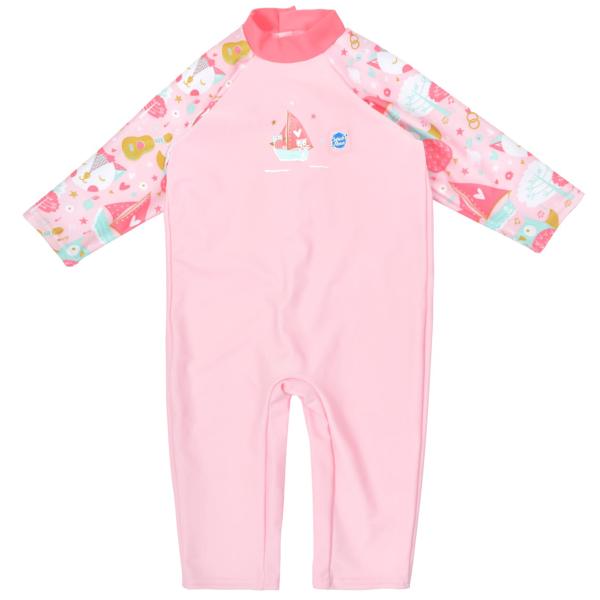 Costum protecție UV bebeluşi - UV All In One Bufnițe şi Pisicuțe 0