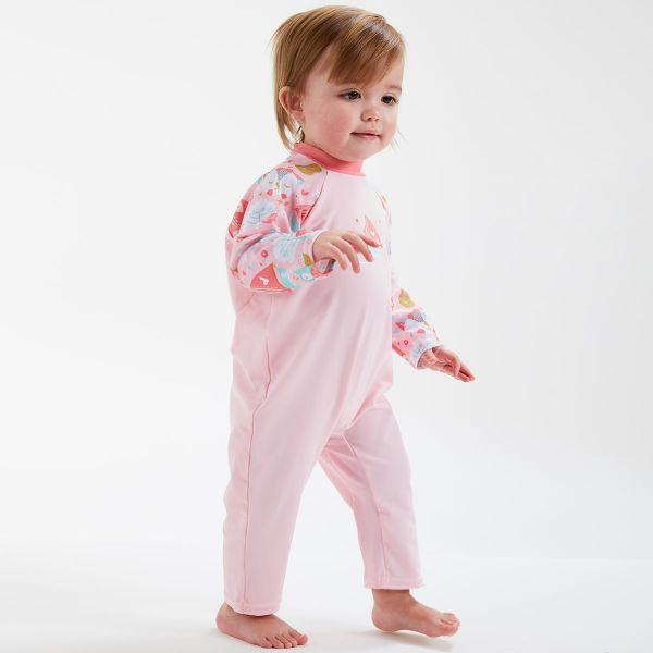Costum protecție UV bebeluşi - UV All In One Bufnițe şi Pisicuțe 2