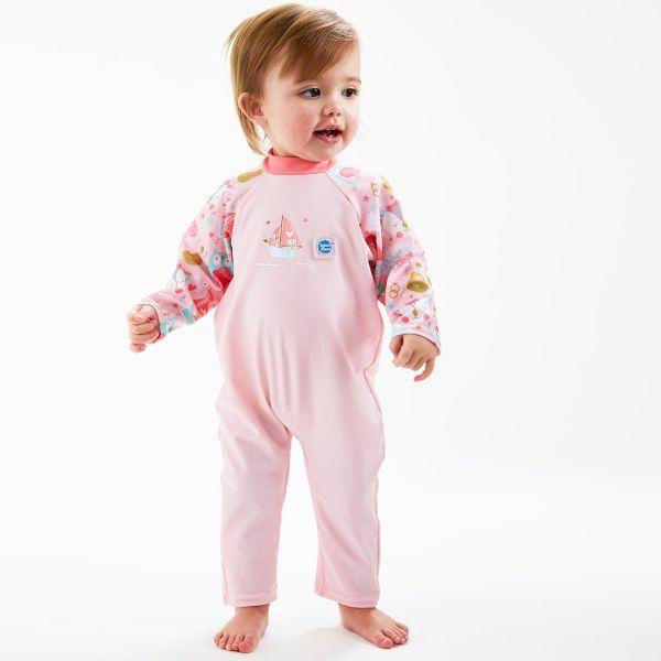 Costum protecție UV bebeluşi - UV All In One Bufnițe şi Pisicuțe 3