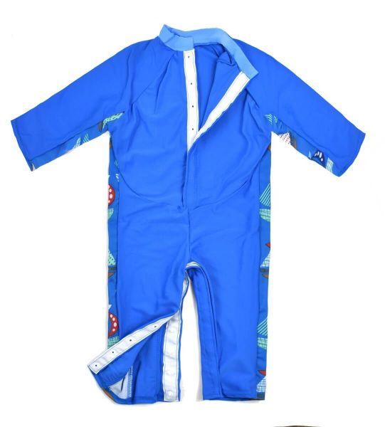 Costum protecție UV bebeluşi - UV All In One Micul Navigator 1