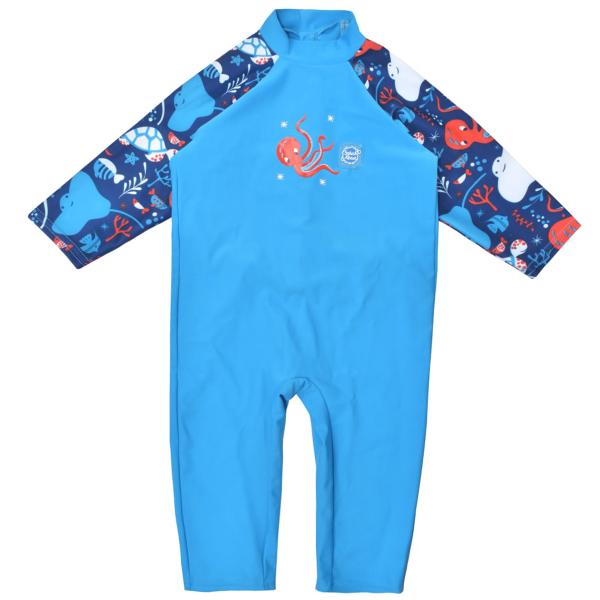 Costum protecție UV bebeluşi - UV All In One Din Ocean 0