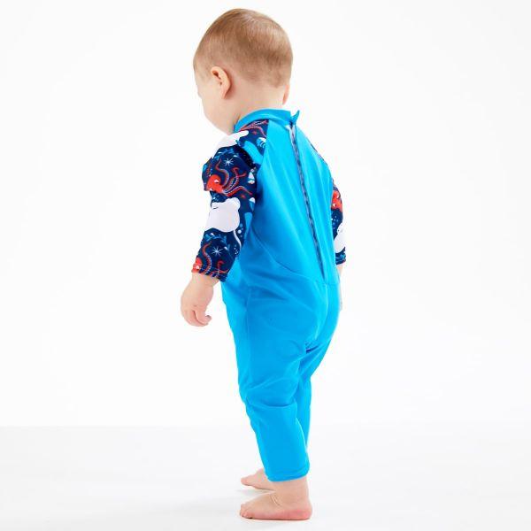 Costum protecție UV bebeluşi - UV All In One Din Ocean 3