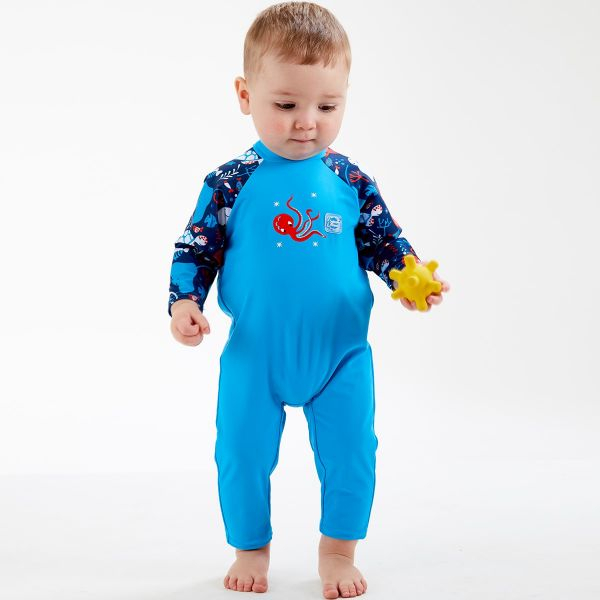 Costum protecție UV bebeluşi - UV All In One Din Ocean 2