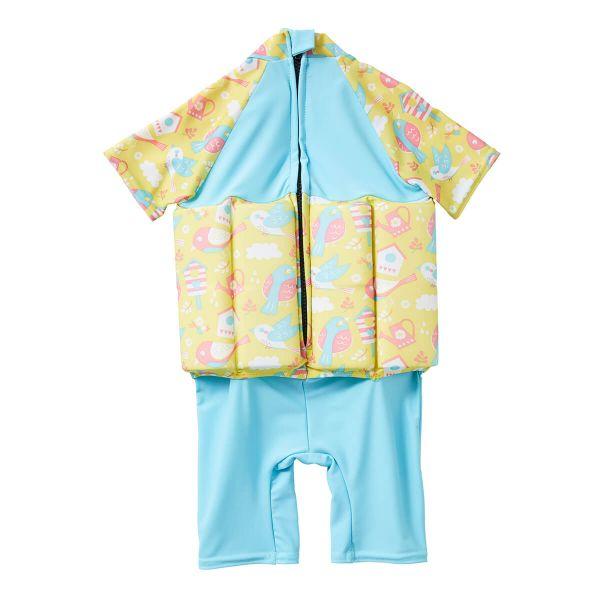 Costum înot plutitor/protecție UV copii-UV Floatsuit Păsări de Grădină 1