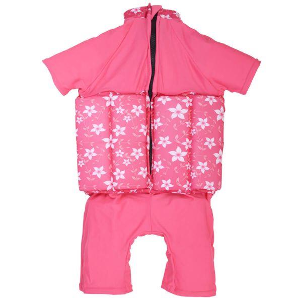 Costum înot plutitor/protecție UV copii-UV Floatsuit Flori Rozalii [1]