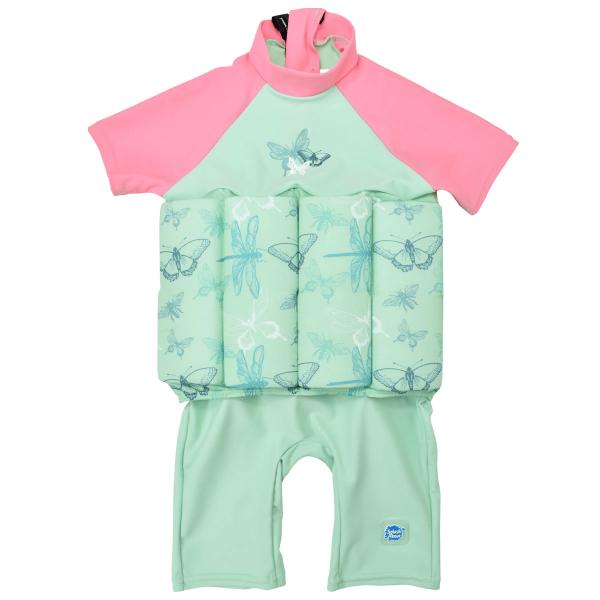 Costum înot plutitor/protecție UV copii-UV Floatsuit Libelule 0