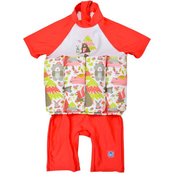 Costum înot plutitor/protecție UV copii-UV Floatsuit Din Pădure 0