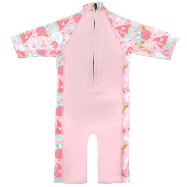 Costum protecție UV/neopren copii - UV Sun & Sea Bufnițe şi Pisicuțe 1