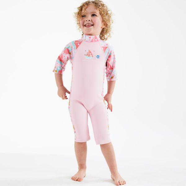 Costum protecție UV/neopren copii - UV Sun & Sea Bufnițe şi Pisicuțe 3