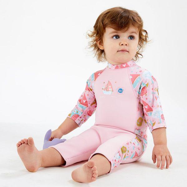 Costum protecție UV/neopren copii - UV Sun & Sea Bufnițe şi Pisicuțe 2