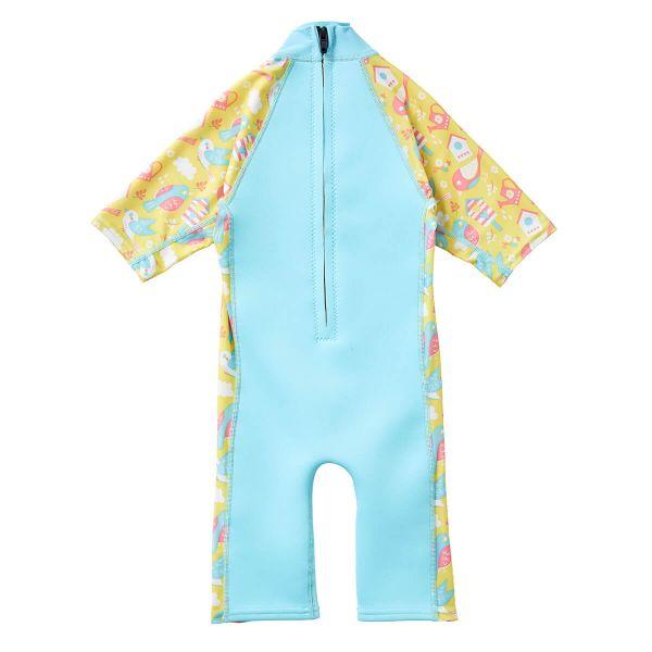 Costum protecție UV/neopren copii - UV Sun & Sea Păsări de Grădină 1